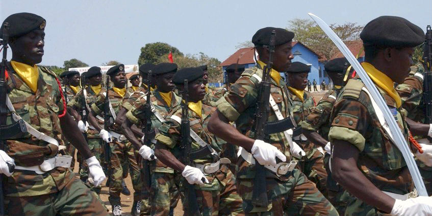 Angolan military