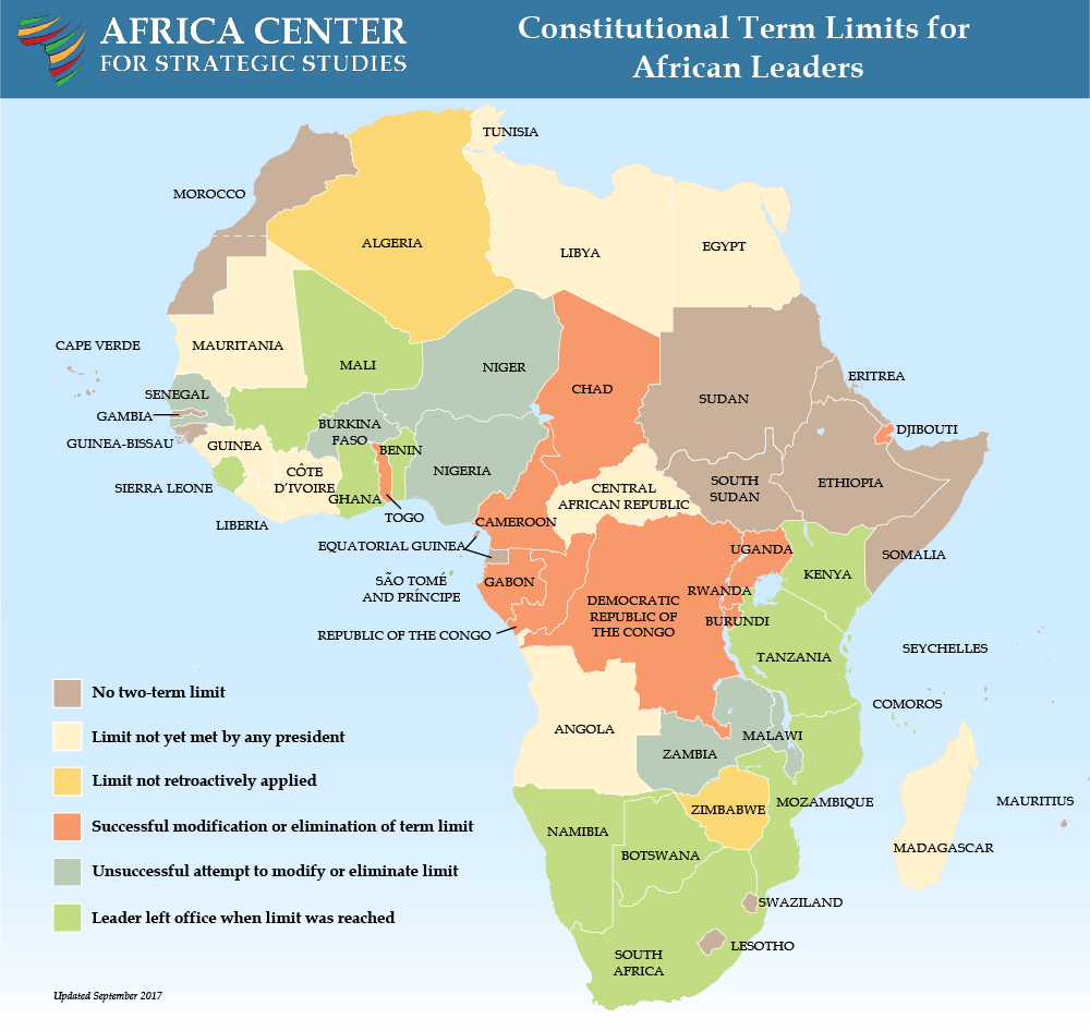 Constitutional Term Limits for African Leaders Africa Center for