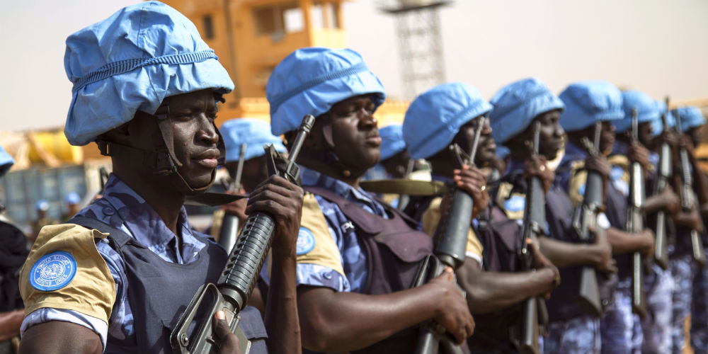 Senegalese peacekeepers in Mali 1000x500