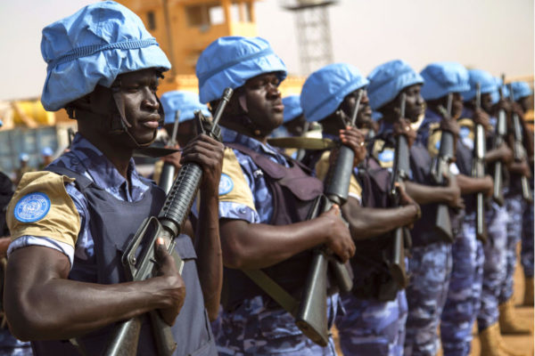 Senegalese peacekeepers in Mali