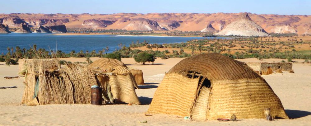 Ounianga Serir village in northwestern Chad. Photo: David Stanley.