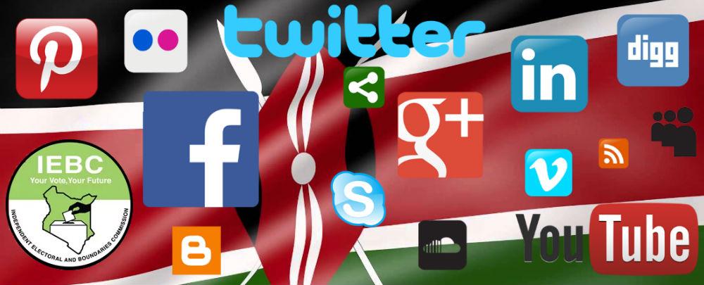 Kenya social media election