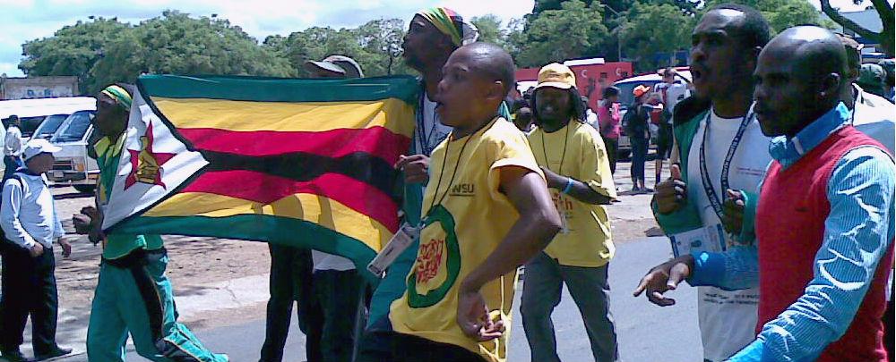 Members of the ZANU-PF Youth League