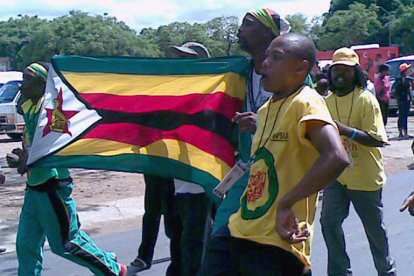 Members of the ZANU-PF Youth League