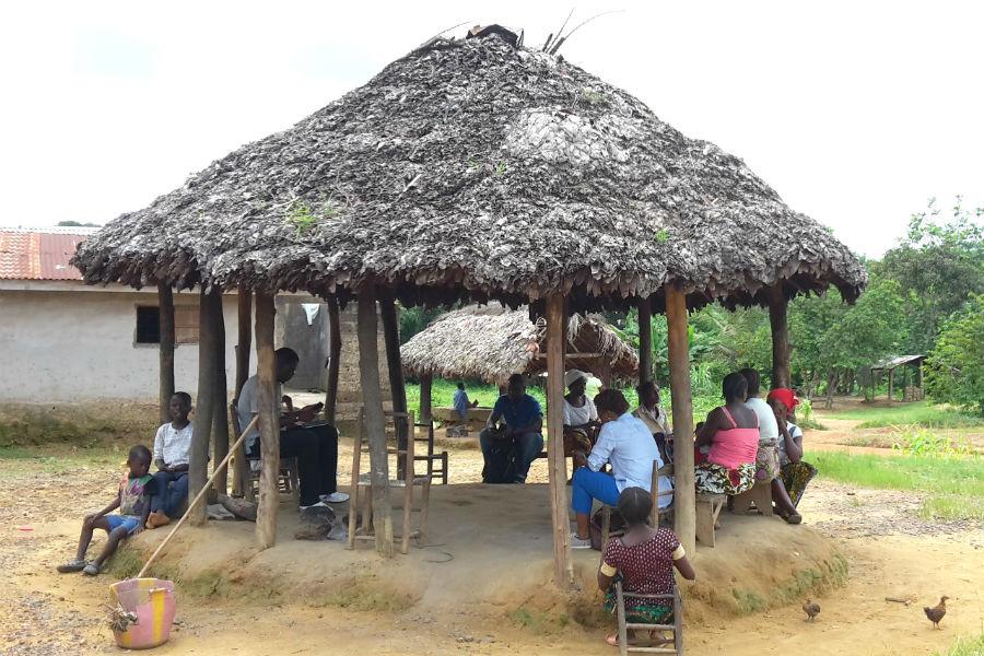 A Palava Hut