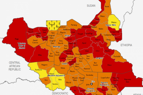 South Sudan Food insecurity Feb-May 2018