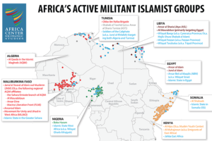 More Activity but Fewer Fatalities Linked to African Militant Islamist Groups in 2017