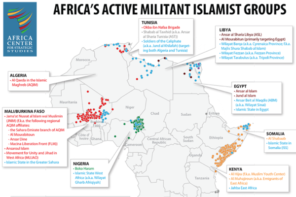 African Militant Islamist Groups Again on the Rise