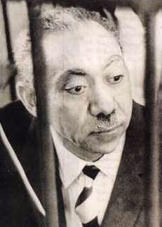 Sayyid Qutb on trial in 1966.