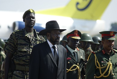 Salva Kiir (Photo: Al Jazeera English)