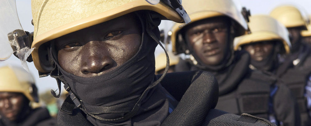 South Sudan Police Recruits at Training Academy (Photo: UN/Paul Banks)
