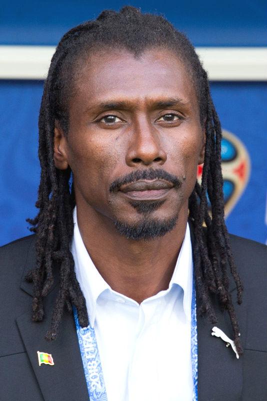Aliou Cissé, Senegal coach.