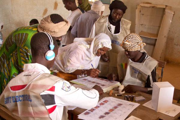 Stabiliser un État fragile: les élections présidentielles au Mali