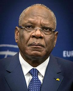 Le Président Ibrahim Boubacar Keïta. (Photo: Claude Truong-Ngoc)