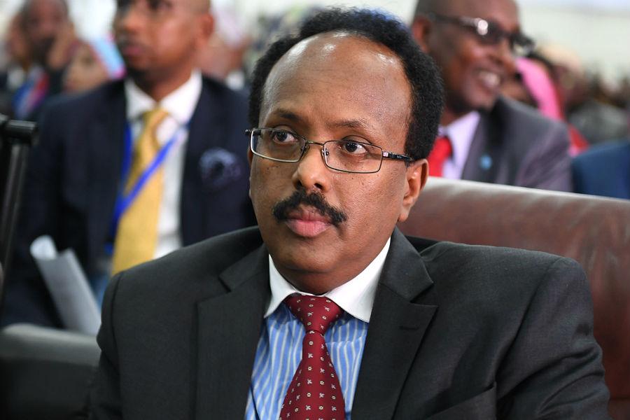 Somali President Mohamed Abdullahi Farmajo