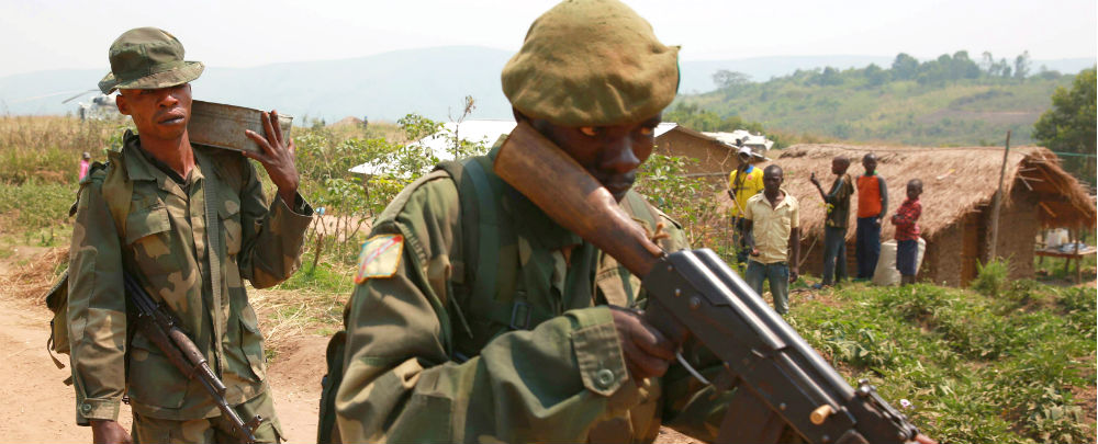 DRC troops in Ituri province
