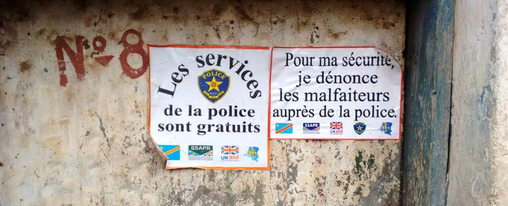 Putting Everyday Police Life at the Centre of Reform in Bukavu