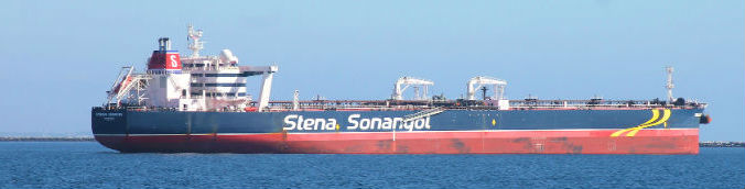 The Stena Sunrise Crude Oil Tanker