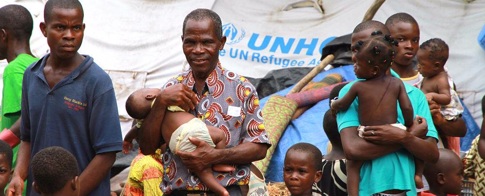Internally displaced at a refugee camp in Duékoué, Côte d'Ivoire. (Photo: Trond Viken, Utenriksdepartementet)