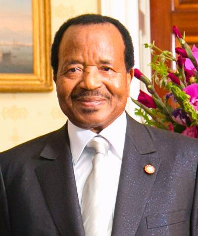 Le Président du Cameroun Paul Biya. (Photo: Amanda Lucidon)