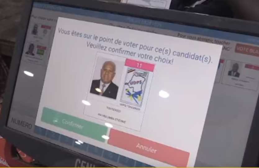 DRC voting machine