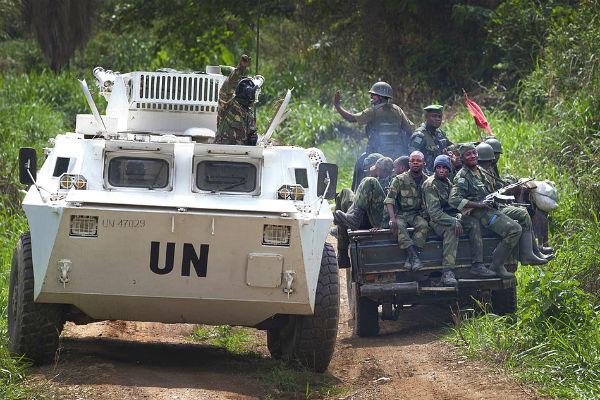 Une opération conjointe MONUSCO-FARDC contre les ADF à Beni.