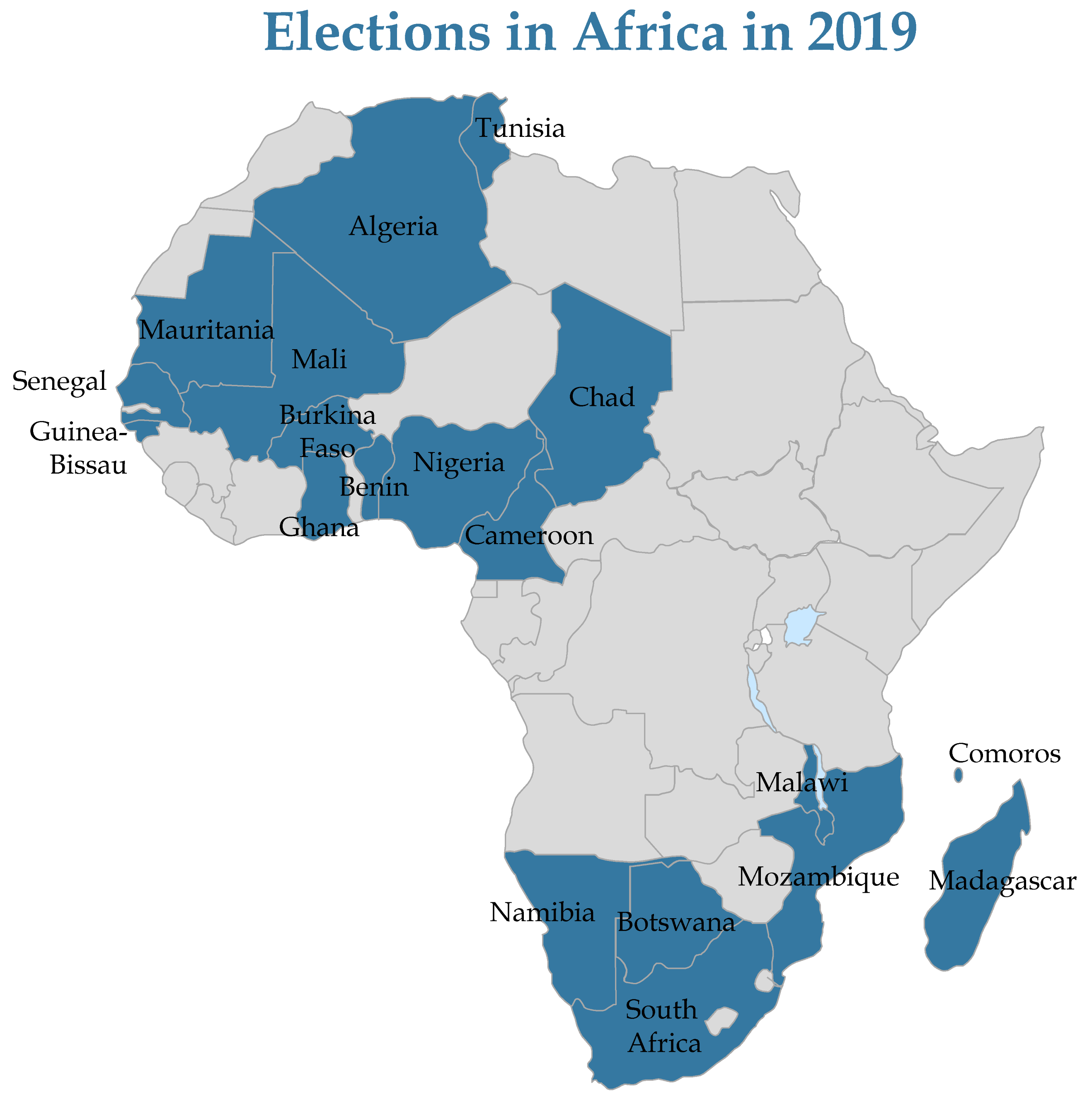An Overview of Africa's 2019 Elections – Africa Center for Strategic on