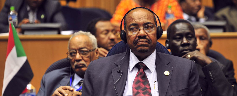 manifestations au Soudan - Le président soudanais Omar al-Bashir. (Photo: US Navy/Jesse B. Awalt)