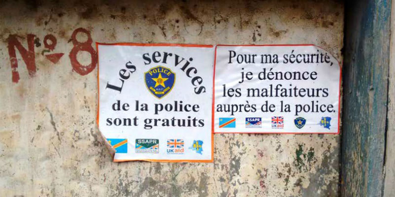 Putting Everyday Police Life at the Centre of Reform in Bukavu 800x400