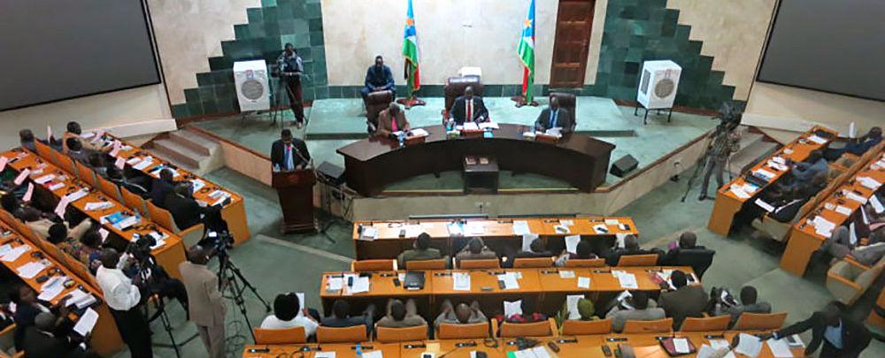 Sudan's legislative assembly ratifies the R-ARCSS.