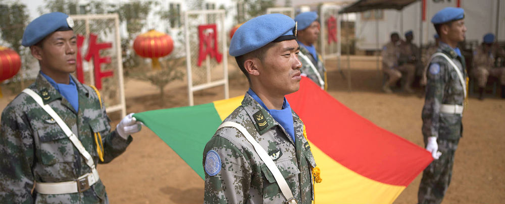 Chinese peacekeepers in Mali. (Photo: MINUSMA/Harandane Dicko)