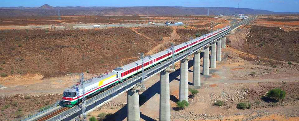 The Chinese-built Addis Ababa–Djibouti Railway