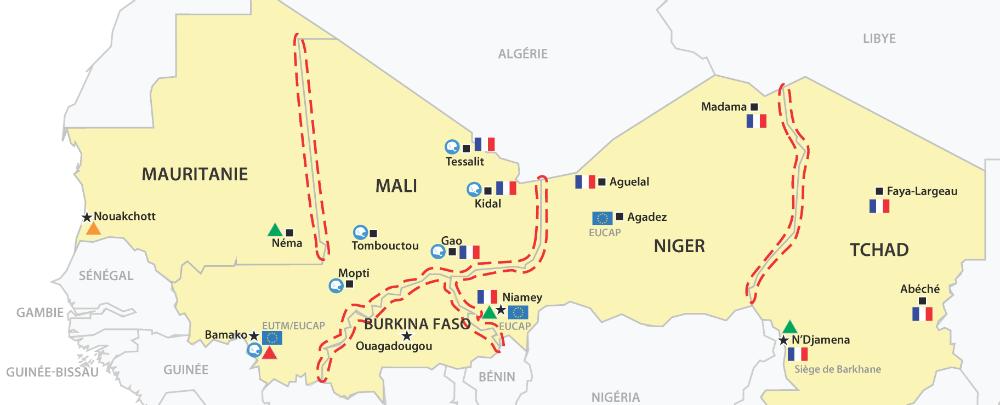 Aperçu des réponses sécuritaires régionales au Sahel