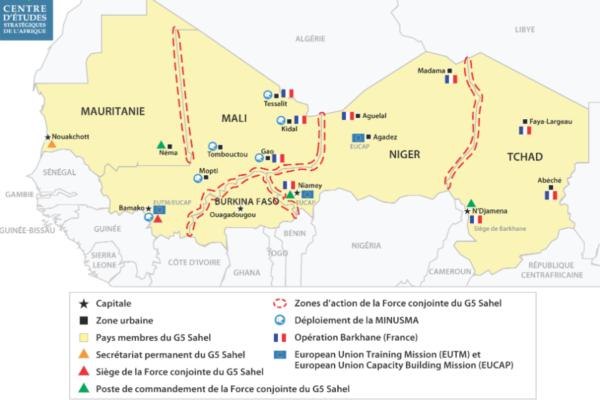 Réponses sécuritaires régionales au Sahel