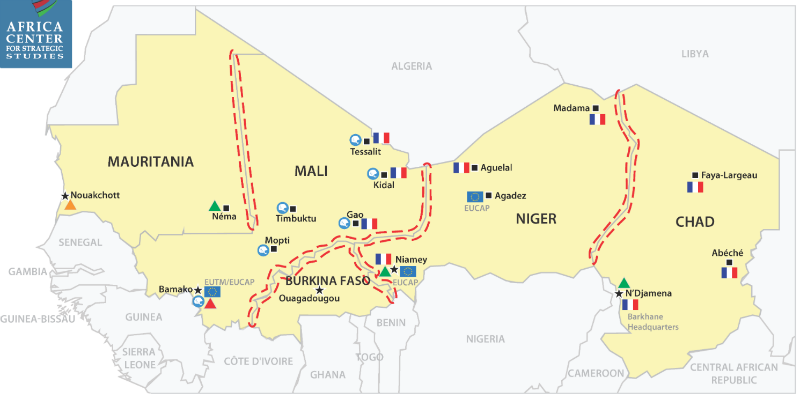 A Review of Major Regional Security Efforts in the Sahel