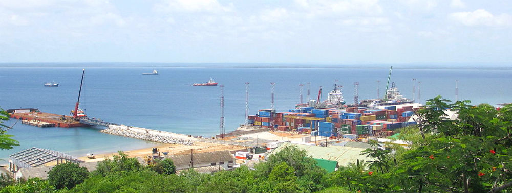 The port of Pemba, Mozambique