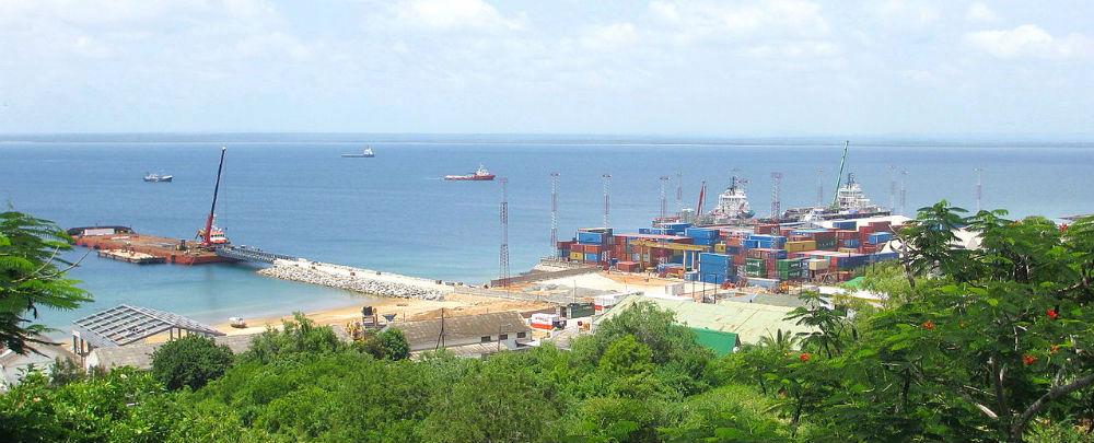 The port of Pemba in Mozambique's Cabo Delgado province.