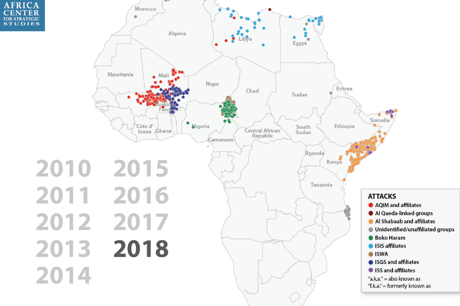 Fronts Fluctuate in Battle against African Militant Islamist Groups