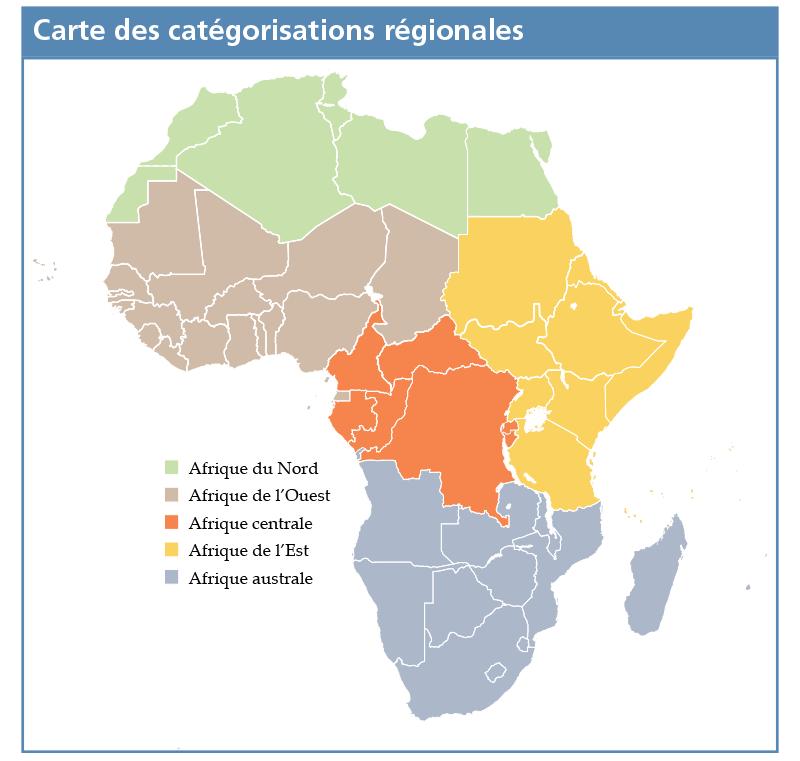 Carte des catégorisations régionales - Evaluation des attitudes