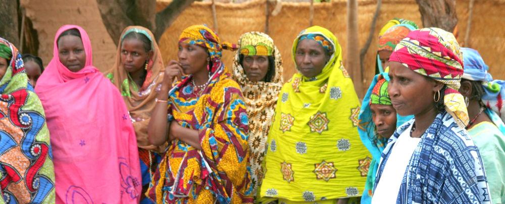 Peul women in Paoua, Central African Republic.