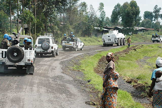 Des éléments de la Brigade d'Intervention de la MONUSCO, Nord Kivu.