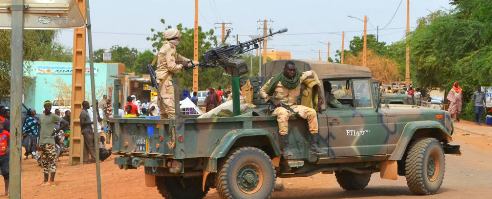 Mali soldiers on patrol in Gao the day after a suicide attack. (Photo: AFP)