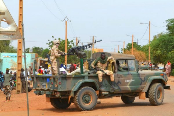 Mali soldiers in Gao