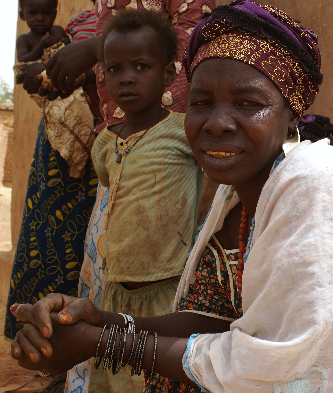 A Fulani woman in Burkina Faso
