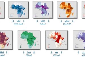 رسم خرائط عوامل خطر انتشار كوفيد-١٩ في أفريقيا