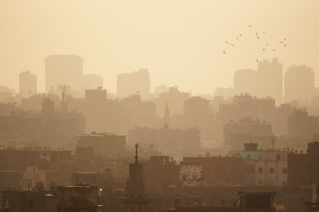 Cairo, one of the biggest African cities and an early hotspot of COVID-19 in Africa