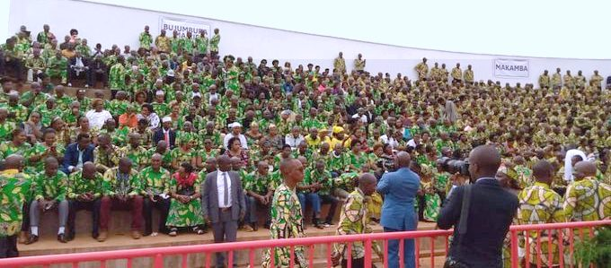 A CNDD/FDD rally in the days prior to the May 20 elections.