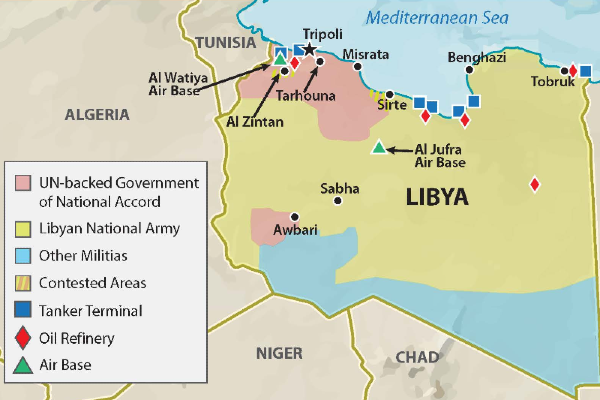 Shifts in the Libyan Civil War