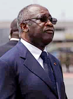 Laurent Gbagbo in August 2007