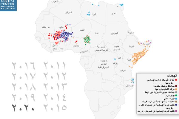 الجماعات الإسلامية المسلحة في أفريقيا تسجل رقمًا قياسيًا في النشاطات العنيفة